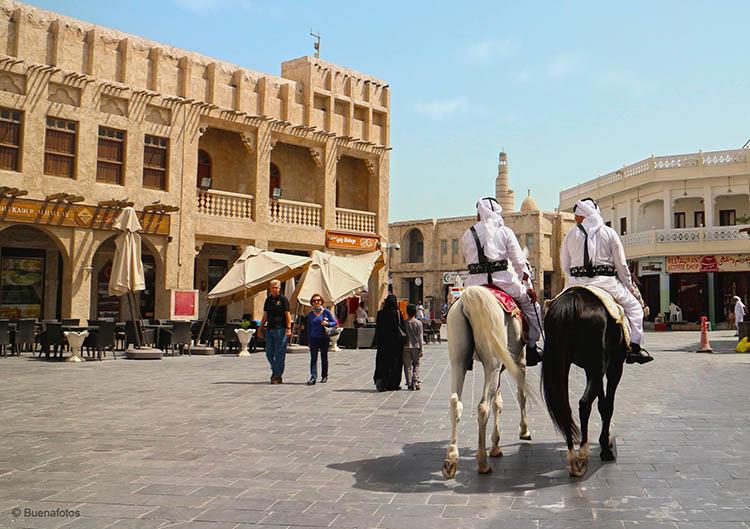 du lịch qatar - Souq Waqif - elle man 3