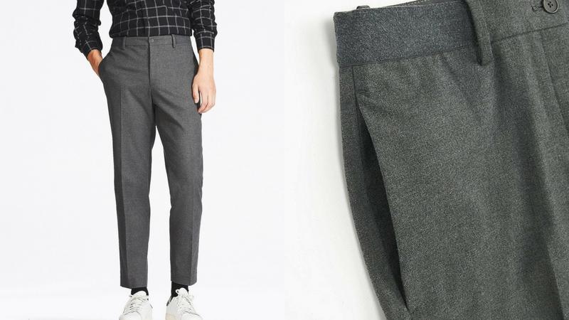 quần dài nam - quần relaxed Uniqlo 1.1 - elle man