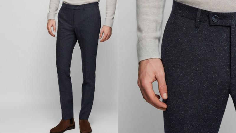 quần dài nam - quần wool Reiss 1.1 - elle man