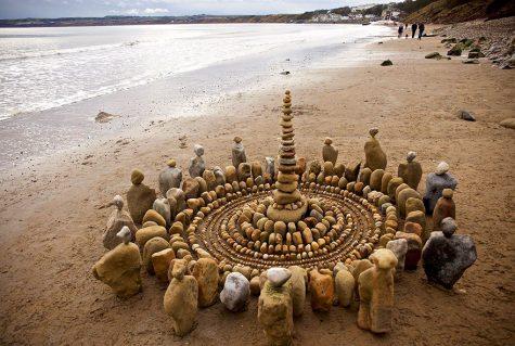 Những tác phẩm nghệ thuật tuyệt đẹp từ thiên nhiên và bàn tay sắp đặt