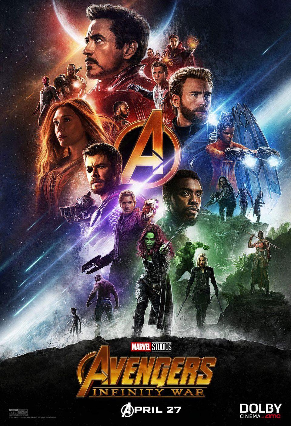 poster phim avengers infinity war