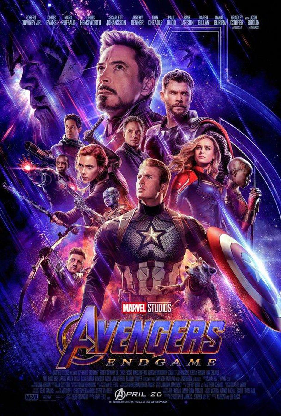 poster phim avengers endgame
