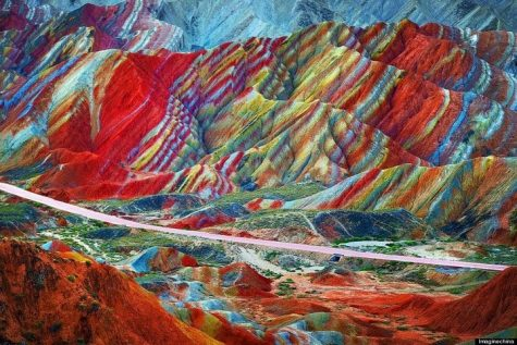 địa điểm du lịch - Zhangye-Danxia-Landform- elle man