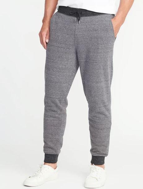 xu hướng thời trang hè 2018 - micro-fleece-lined joggers - elle man 1