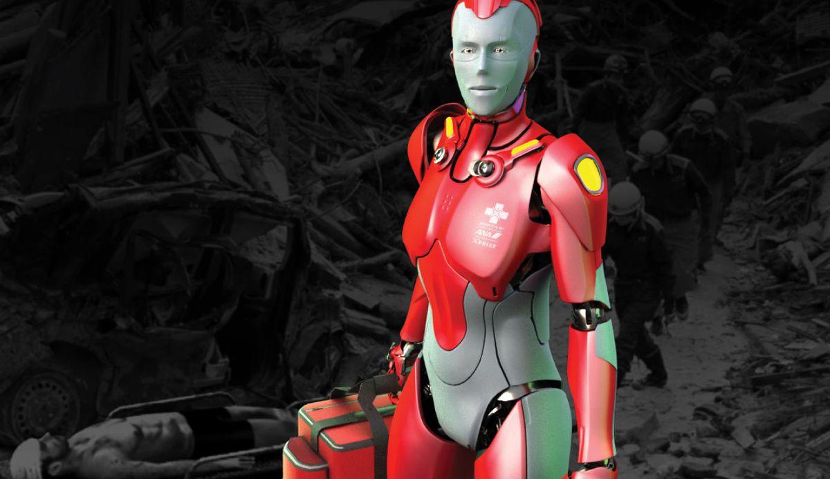 robot cứu hộ - elle man 2