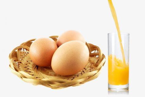 Trứng là sự lựa chọn hoàn hảo cho chế độ ăn uống khao học. Photo: Pngtree