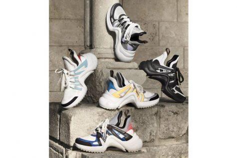 giày thể thao - LV - elle man