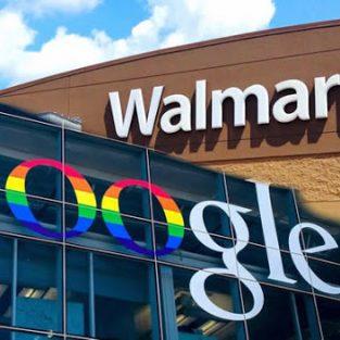 """Tập đoàn Google cùng Walmart """"đấu"""" với Amazon"""
