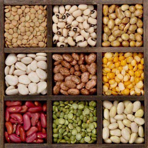 """Các loại đậu còn được gọi là """"thịt thực vật"""". Photo: Genk"""