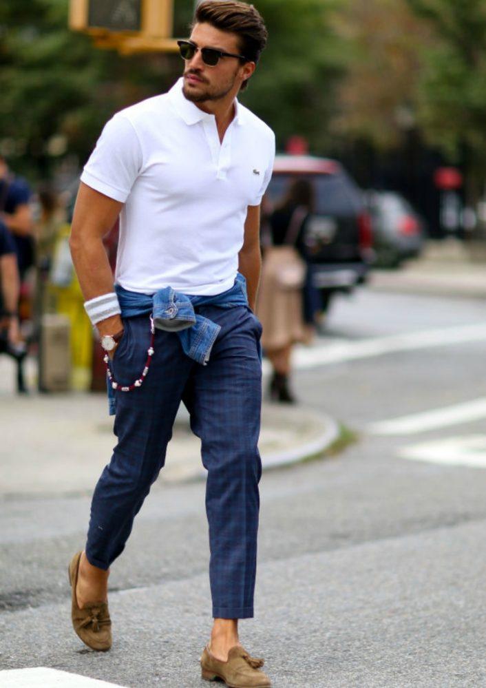 thời trang mua hè - áo polo source he spoke style - elle man 2