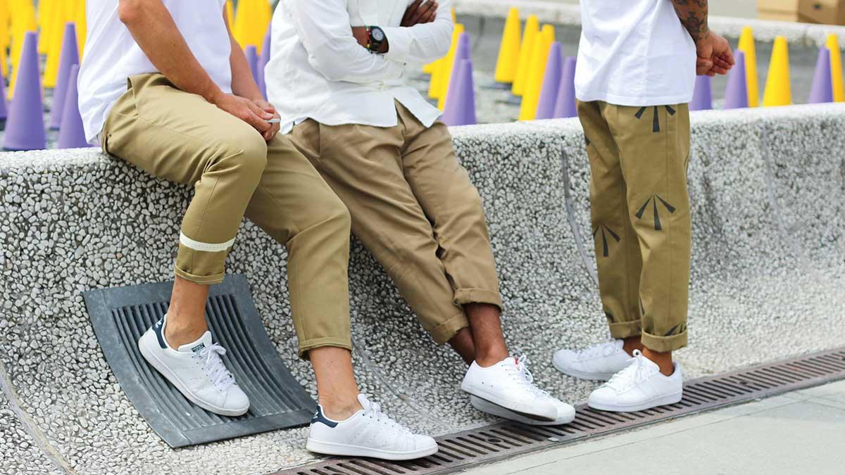 thời trang mua hè - quần chinos source the idleman - elle man 1