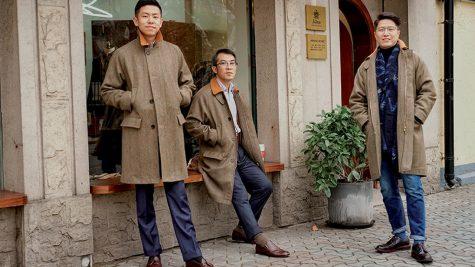 Những tay chơi thời trang may đo của châu Á
