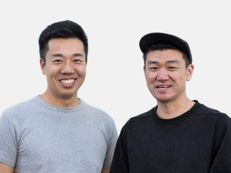 ung dung mua sam - eddy lu (left) & daishin sugano (right) source goat - elle man