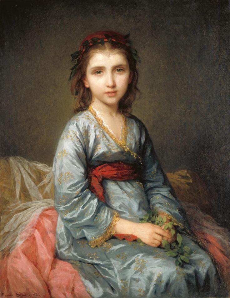 hoạ sĩ nổi tiếng 4a - A Greek Captive 1863 - elleman