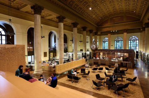 Thư viện Fleet - Trường Thiết kế Rhode Island