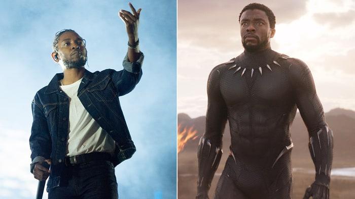 Kendrick Lamar làm nhạc phim Black Panther.