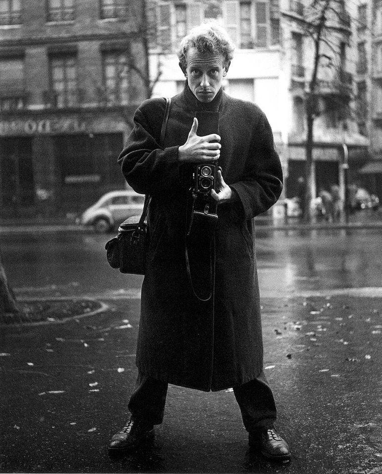 Ảnh tự chụp của Ed van der elsken.