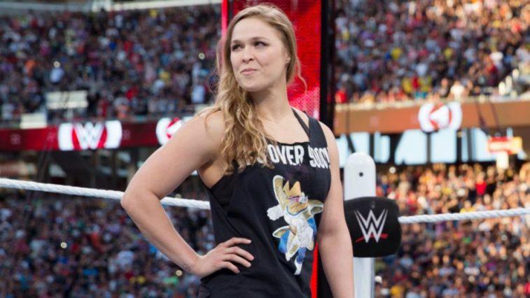 Cựu nữ hoàng UFC Ronda Rousey hạnh phúc khi trở thành đô vật Mỹ
