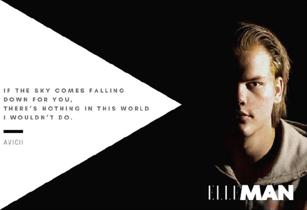 """""""Nếu một ngày thế gian này sụp đổ, đừng lo vì tôi sẽ làm mọi thứ vì em"""" - Avicii"""