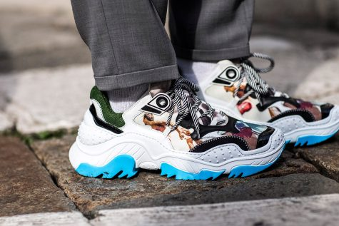giày thể thao- chunky sneaker - elleman