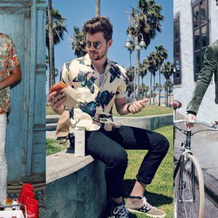 Thời trang sao nam ấn tượng tuần cuối tháng 4/2018