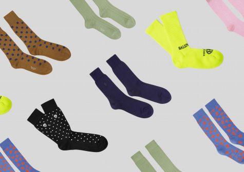 ELLE Man Style Calendar: Làm thân với những đôi tất màu sắc