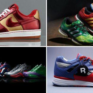 8 thiết kế giày thể thao Avengers nổi bật