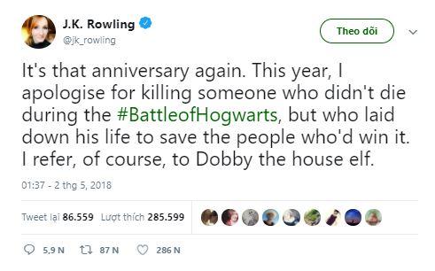 tác giả Harry Potter - elle man 1