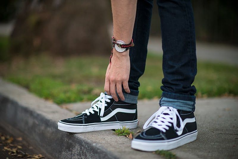 giày thể thao - ELLE man vans