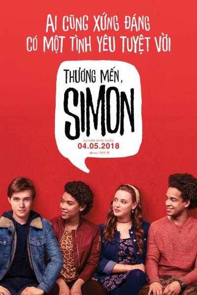 Love, Simon đang được chiếu trên các rạp toàn quốc.
