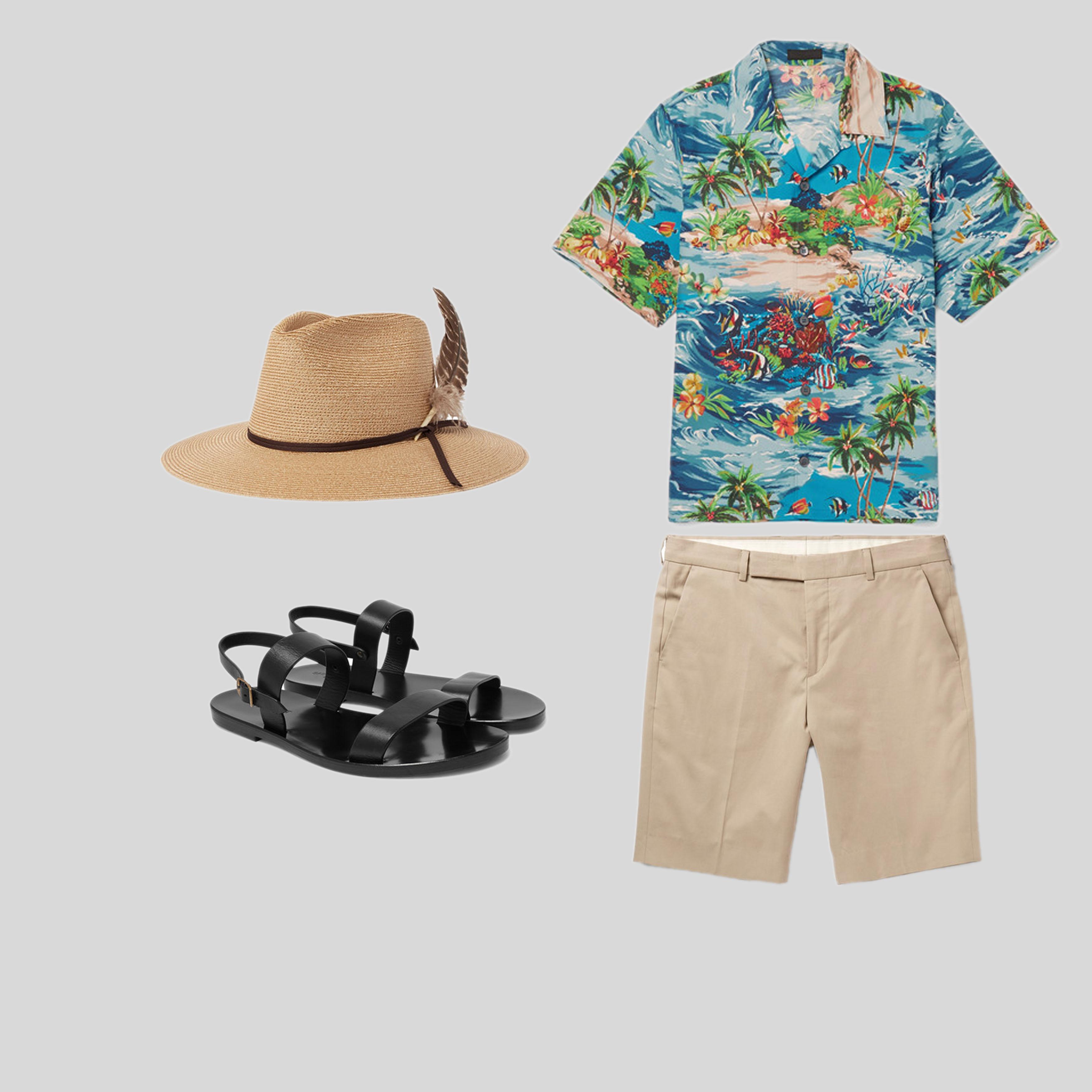 ELLE Man Style Calendar Diện sơ mi phong cách Hawaii đúng chất mùa hè. (4)