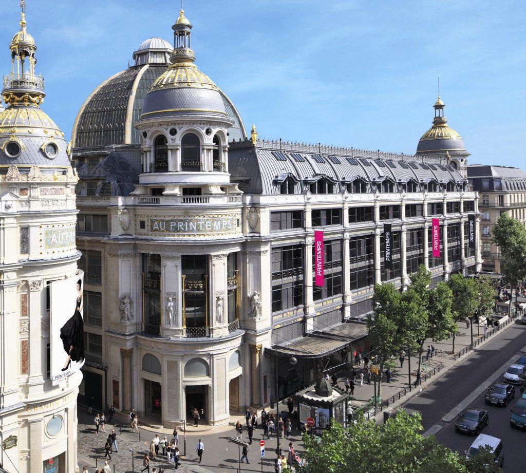 """""""Cửa hàng lớn"""" Printemps trên đại lộ mua sắm Haussmann, Paris. (Ảnh: printemps.com)"""