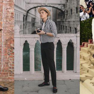 Thời trang sao nam ấn tượng tuần 2 tháng 5/2018