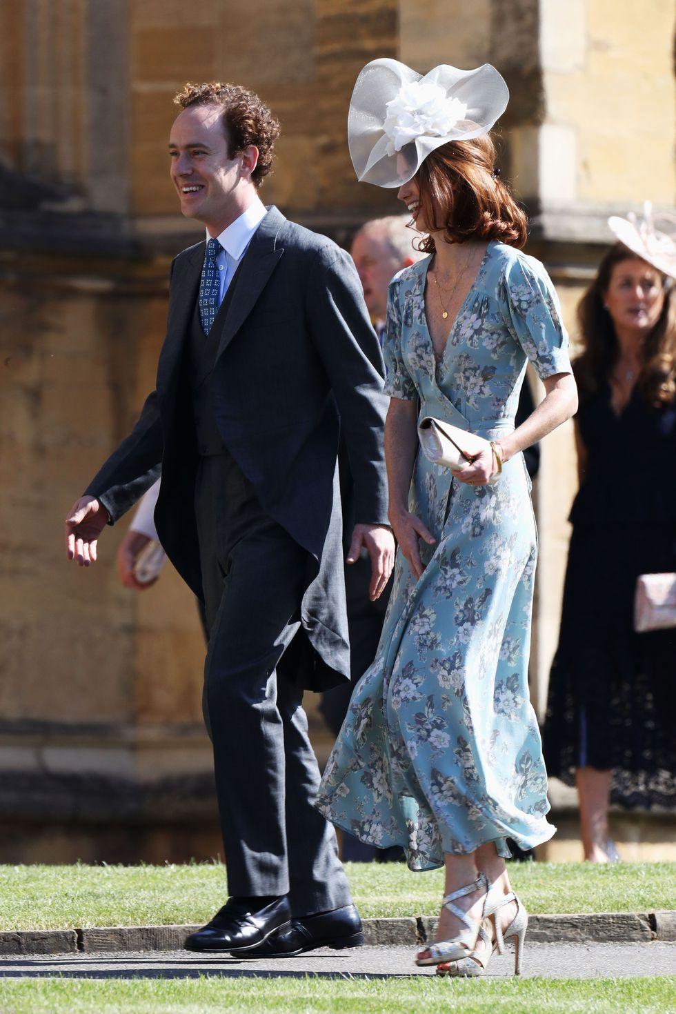 Bạn thân của hoàng tử Harry - Tom Inskip và người vợ xinh đẹp Lara Inskip.