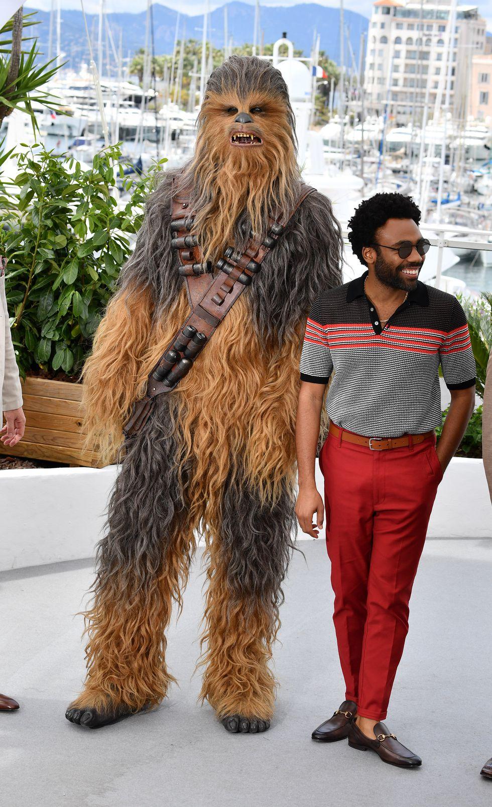 Donald Glover (và Chewbacca)