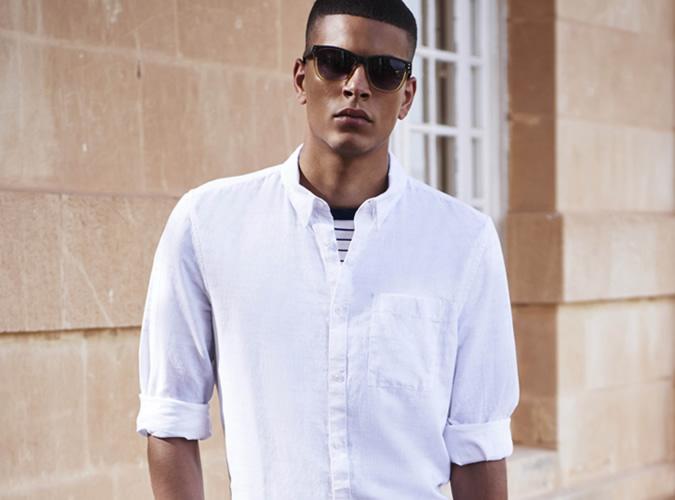 áo sơ mi trắng - ELLE Man (3)