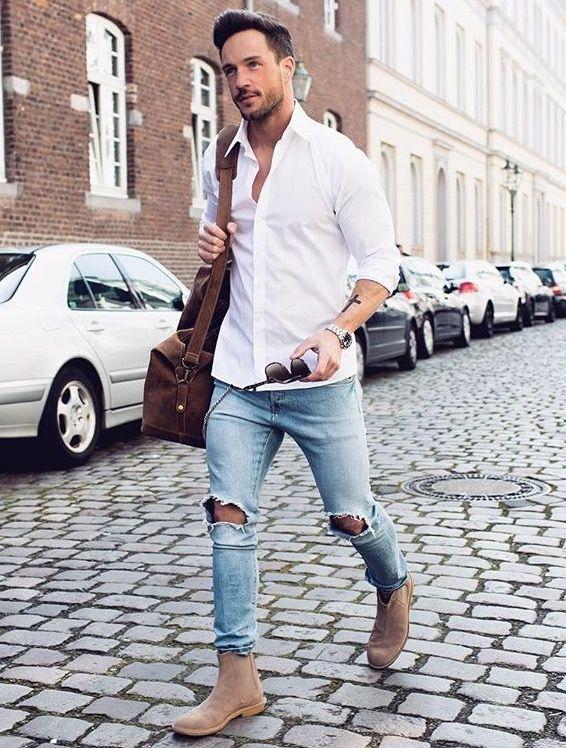 áo sơ mi trắng - ELLE Man (9)