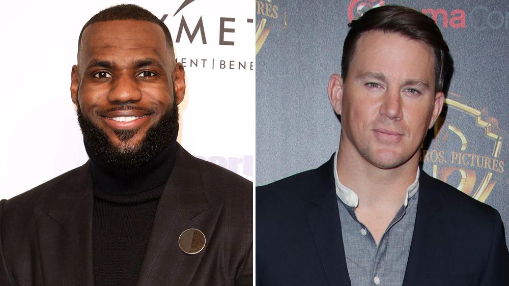 LeBron James & Channing Tatum và bộ phim Public Enemy 1 - elleman