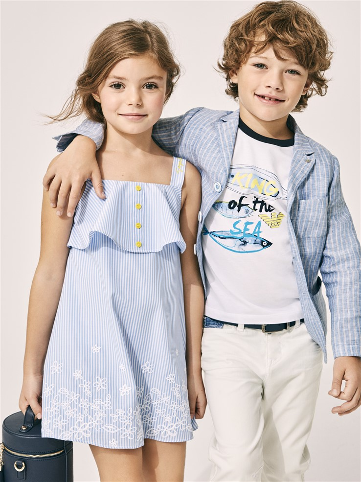 uu dai mua He 2018 - elle man - Armani Junior (Kids' Fashion World)