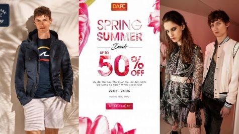 Ưu đãi mùa Hè đến 50%++ với các thương hiệu thời trang cao cấp