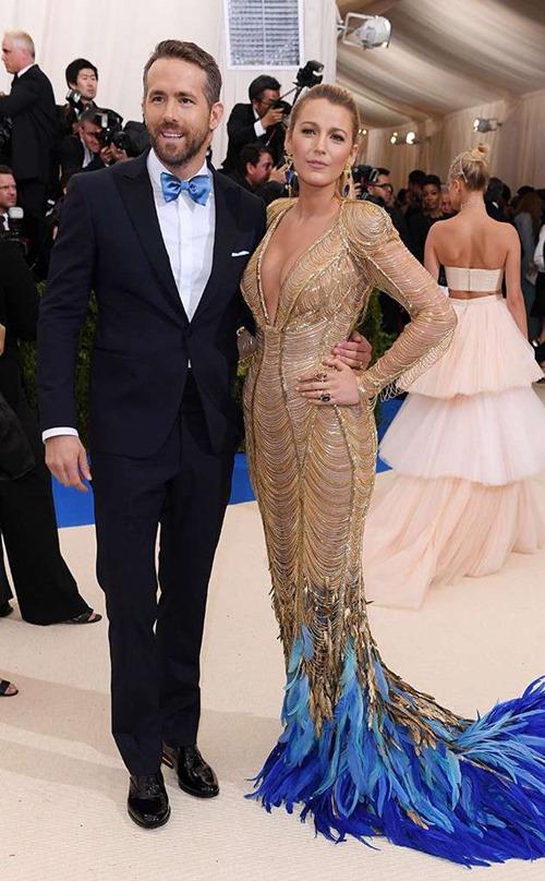 Ryan Reynolds cưới Blake Lively vào năm 2012. Nguồn: 24h