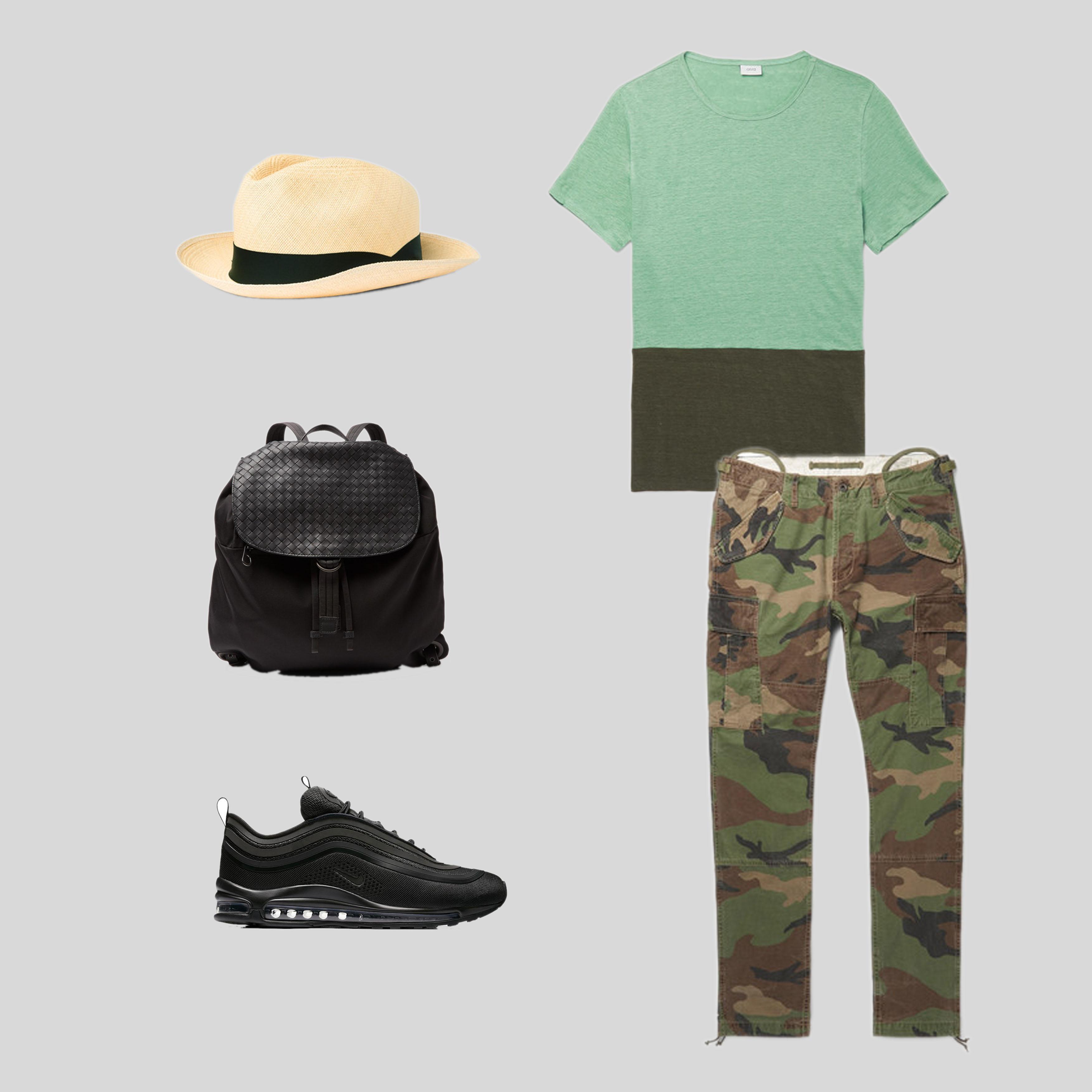 ELLE Man Style Calendar phối đồ ăn ý với mũ cói (5)