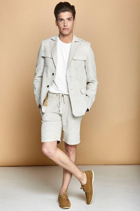 ELLE Man Style Calendar 'F5' phong cách với chiếc quần short đi biển. (18)