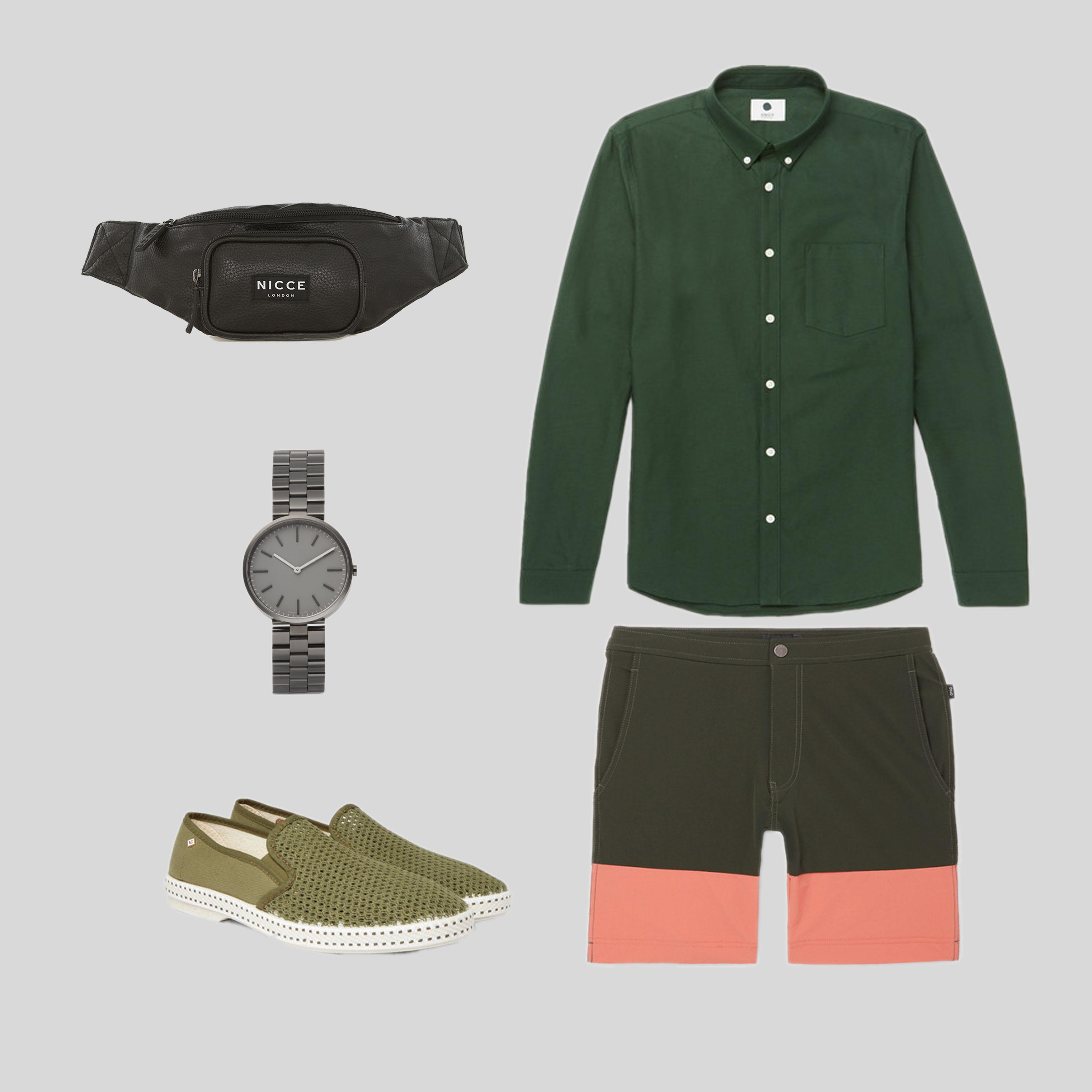 ELLE Man Style Calendar 'F5' phong cách với chiếc quần short đi biển. (3)