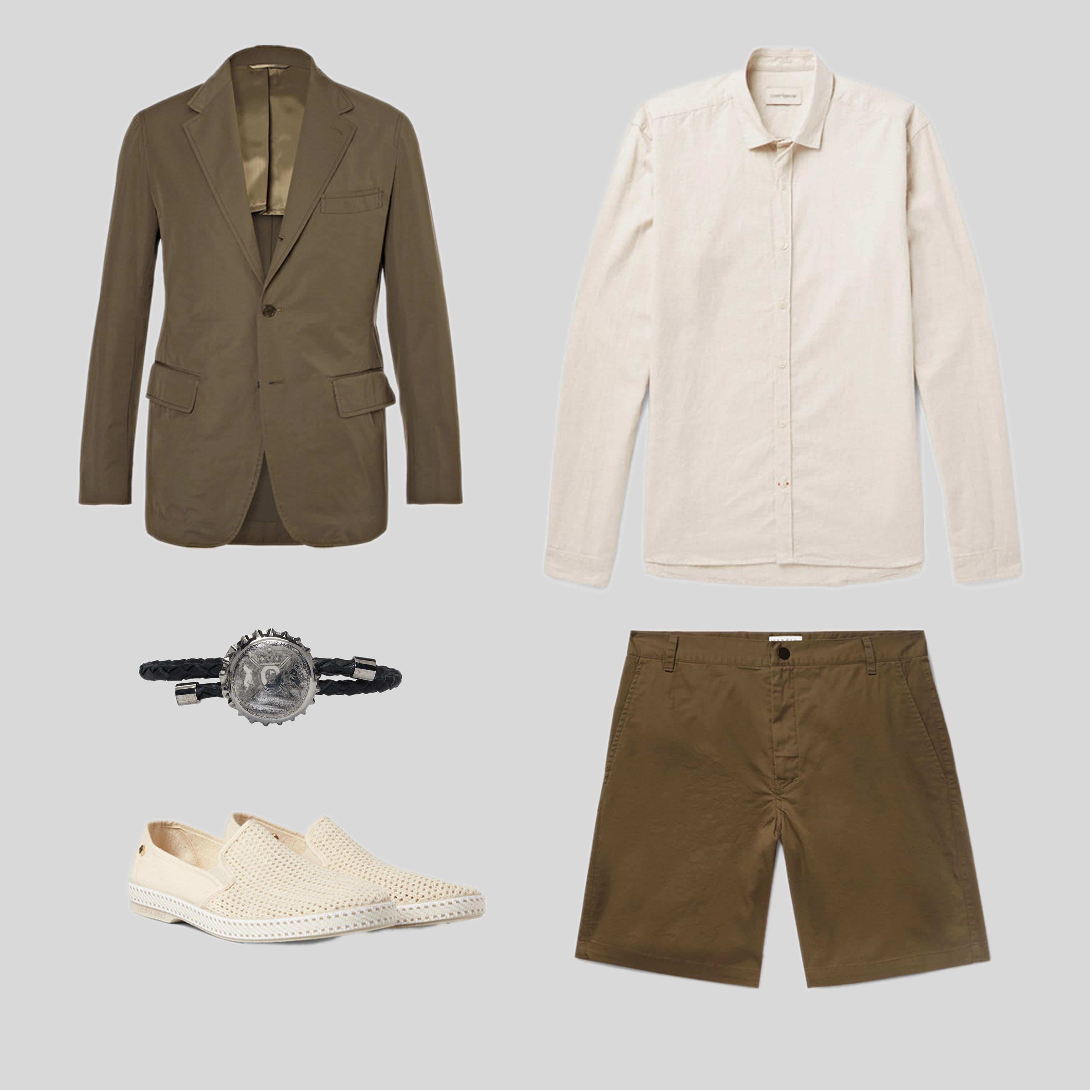 ELLE Man Style Calendar 'F5' phong cách với chiếc quần short đi biển. (4)
