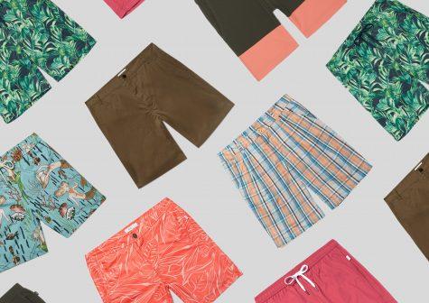 ELLE Man Style Calendar: 'F5' phong cách cùng quần short đi biển