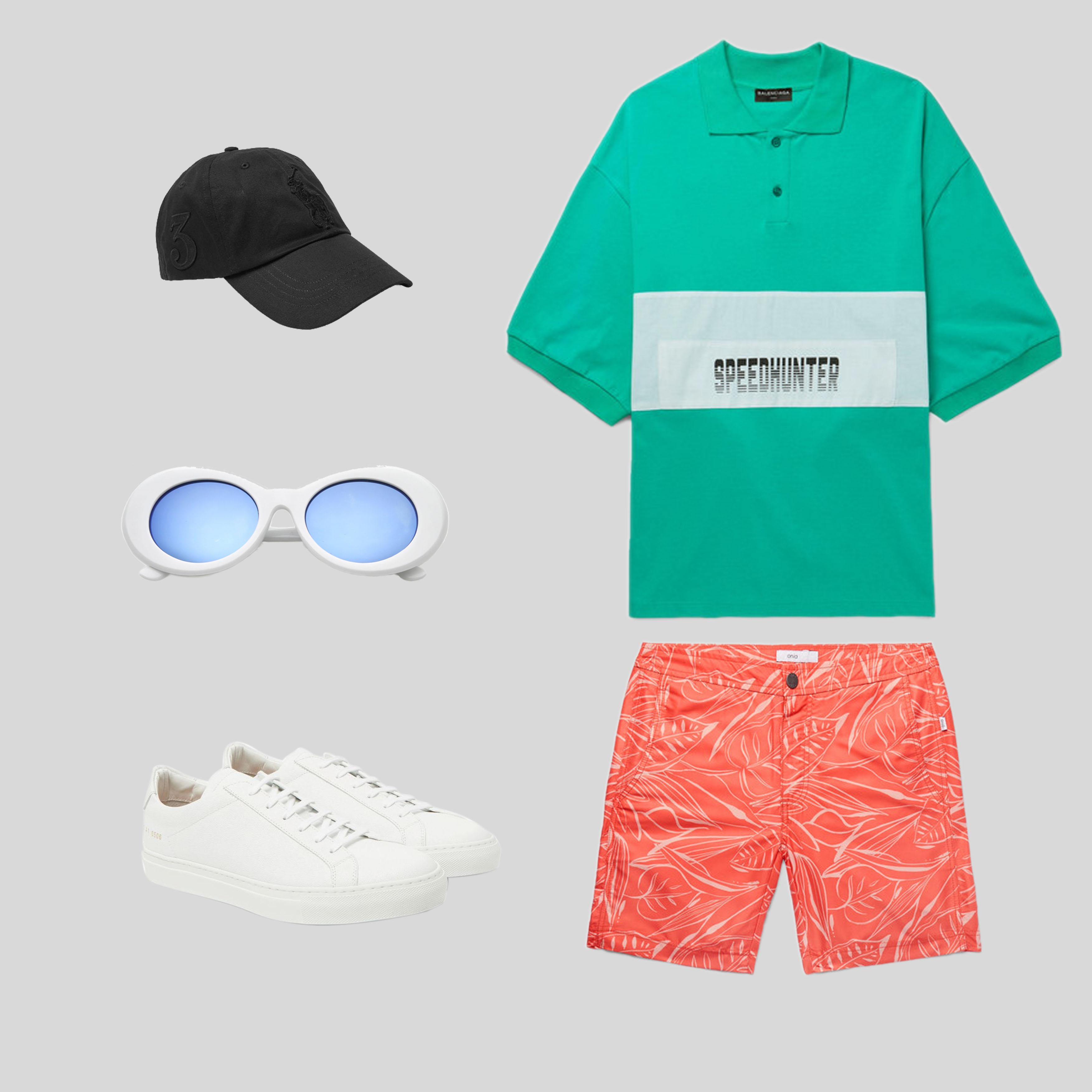 ELLE Man Style Calendar 'F5' phong cách với chiếc quần short đi biển. (7)