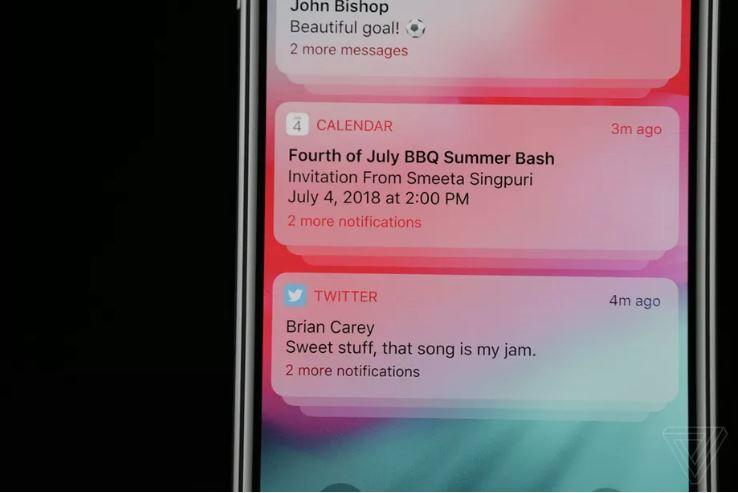iOS 12 elle man q