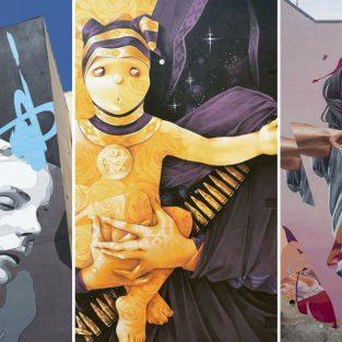 7 tác phẩm nghệ thuật đường phố nổi bật của tháng 5/2018