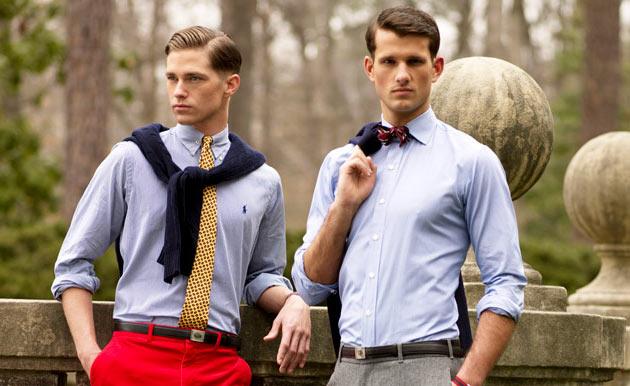 Những phong cách áo sơ mi nam hợp thời trang